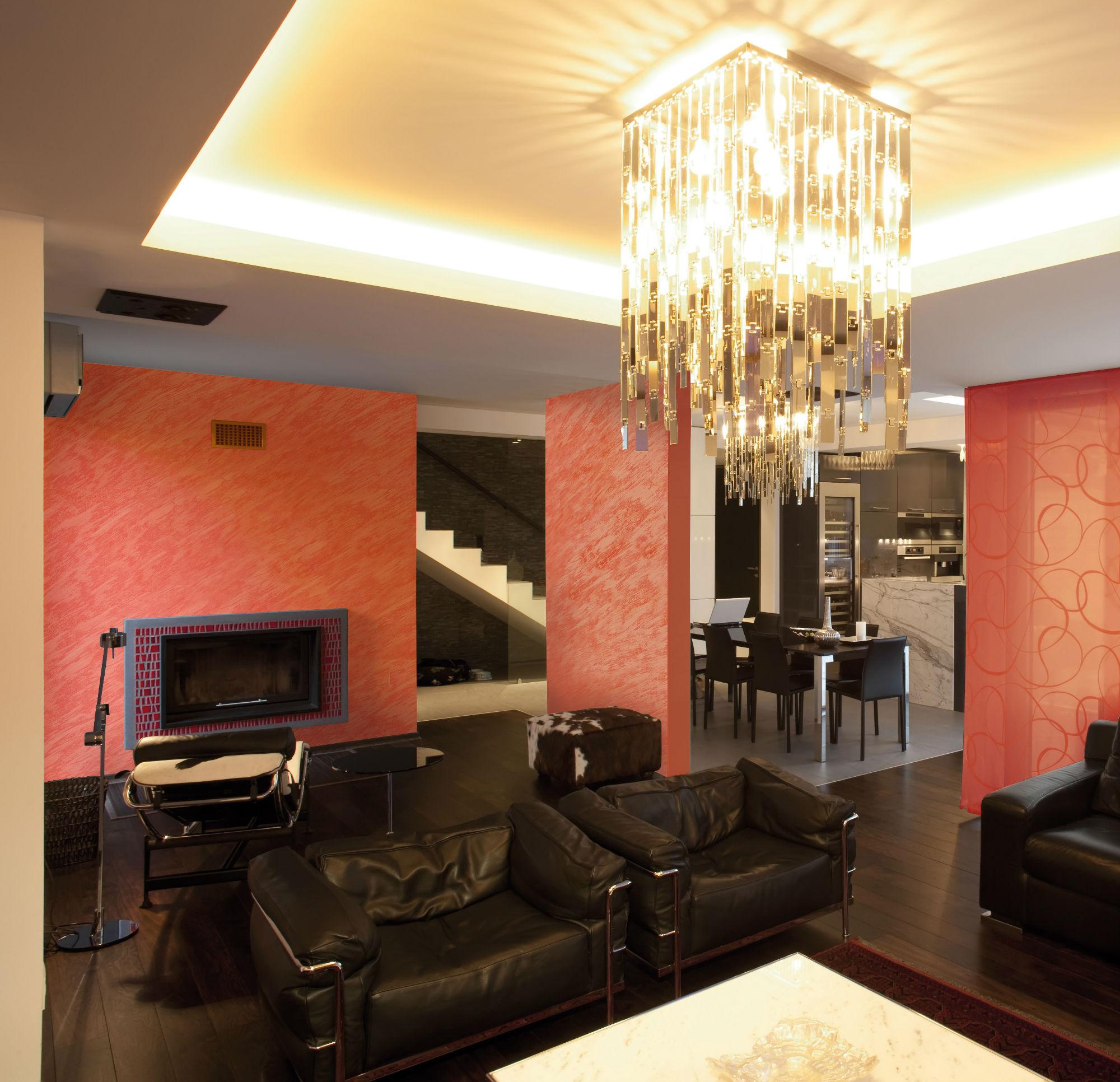 Pitture da interni particolari pittura decorativa per - Pittura sala da pranzo ...