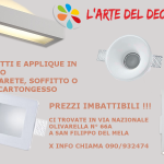 APPLIQUE E FARETTI